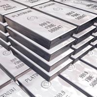 Stack of Platinum Bars