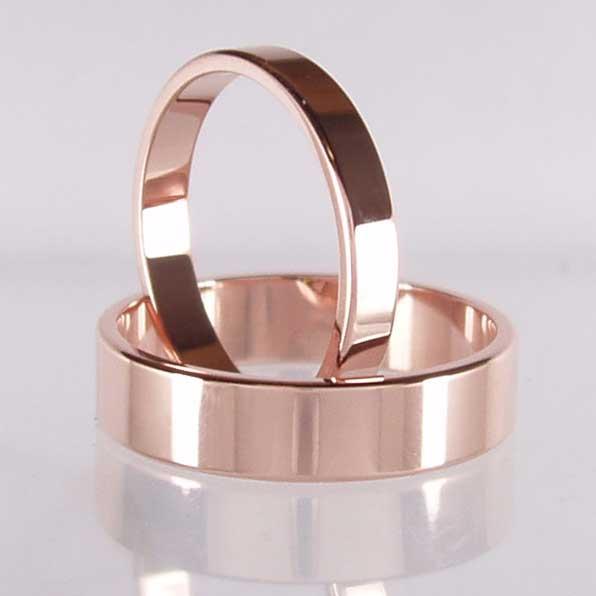 Rose Gold Wedding Rings & Bands